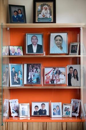 Ganshyam Patel's family photos