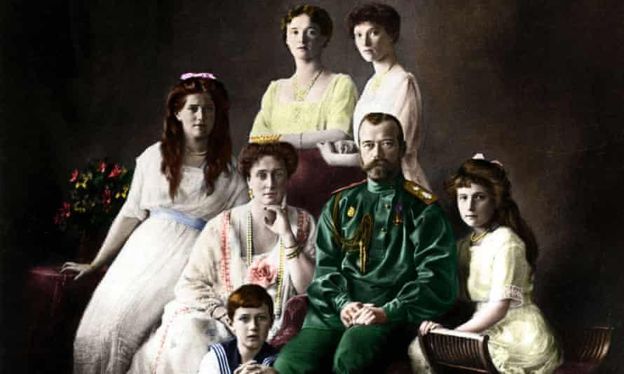 romanov family portrait