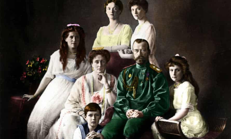Tsar Nicholas II and his family.