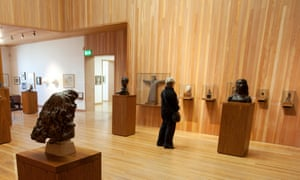 Sculpture exhibition at the New Art Gallery Walsall