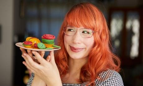 Kim-Joy's recipe for multicoloured shortbread buttons