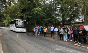 A coach tour of the Strawberry Fields site in Liverpool