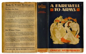 The cover of A Farewell To Arms by Ernest Hemingway illustrated by Cleonike 'Cleon' Damianakes.