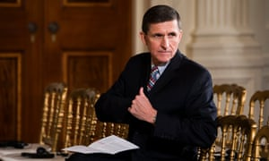 Michael Flynn was forced to resign following revelations that he secretly discussed US sanctions against Russia with the Russian ambassador.