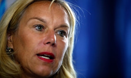 Sigrid Kaag, the Dutch minister for trade