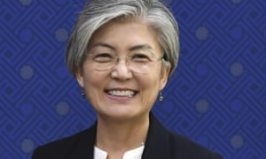 South Korean foreign minister Kang Kyung-wha