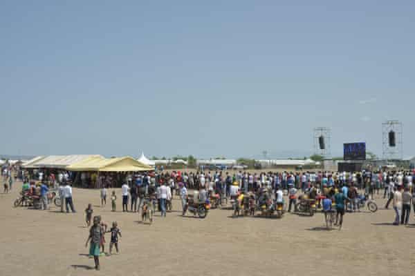 The TEDx event in Kakuma