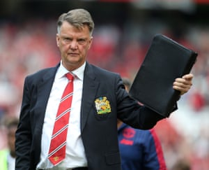 Hope Louis van Gaal took plenty of notes.