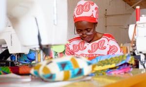 Nyamirambo Women's Centre, Rwanda, woman sewing