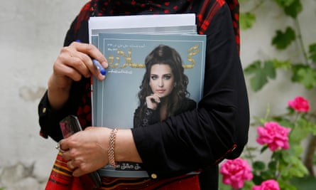 Afghanistan's first women's lifestyle magazine, Gellara, launched in May.