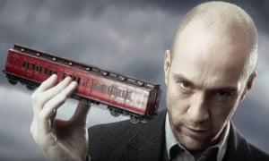publicity for Derren Brown's Ghost Train.