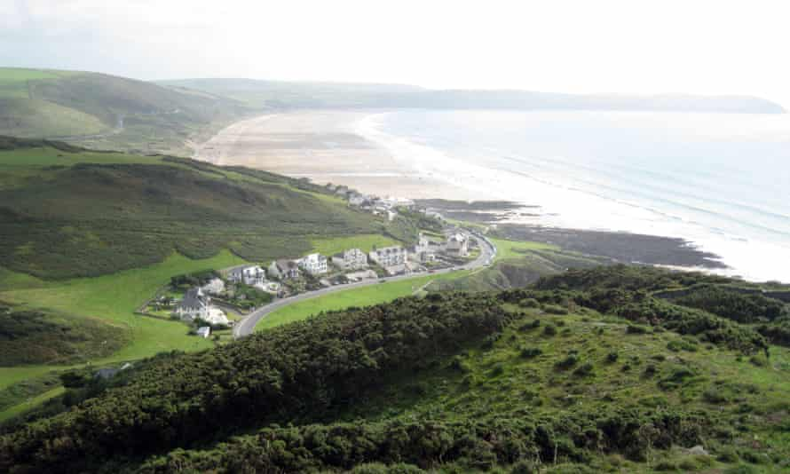 Woolacombe Sands.