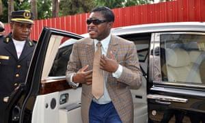 Teodorin Obiang in 2013.