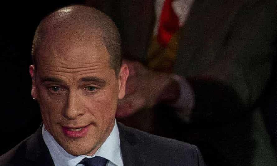 Dutch Labour party leader Diederik Samsom