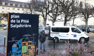 Pitie-Salpetriere hospital in Paris where a second person infected with the coronavirus has died