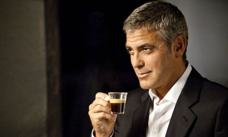 George Clooney is the marketing face of Nespresso.