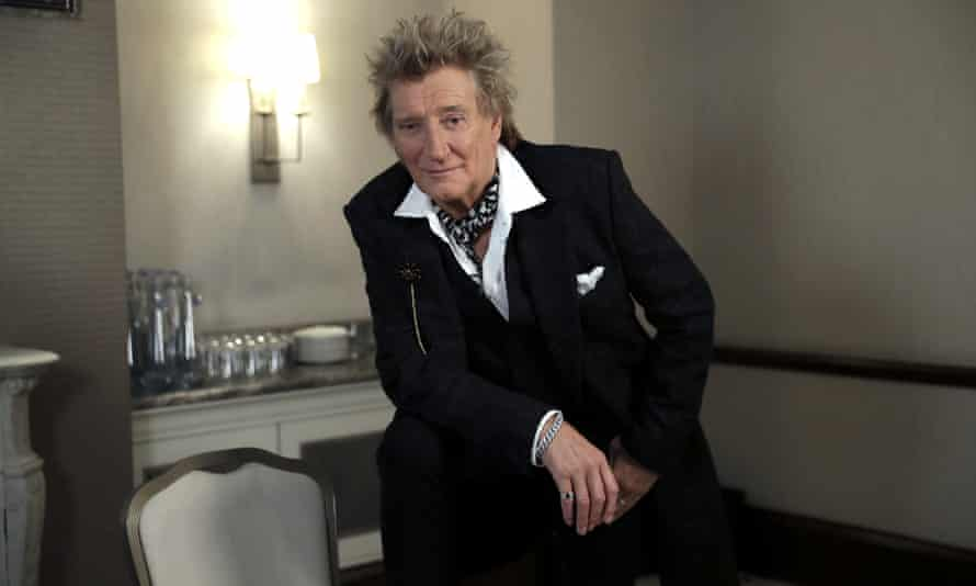 From Abbey Road to railways ... Rod Stewart.