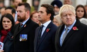 Stuart Anderson and Boris Johnson