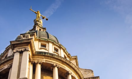 The Old Bailey.