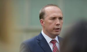 Peter Dutton reportedly texted Jamie Briggs to call the author of a weekend column about him a 'mad fucking witch'.