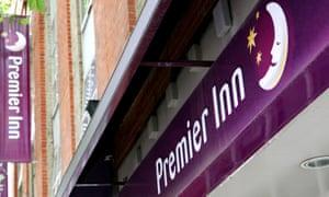 The Unite union sought to talk to staff at Whitbread's Premier Inn chain.