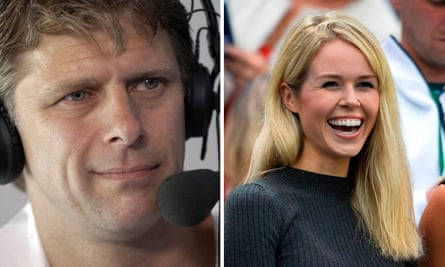 Andrew Castle and Jennifer Bate