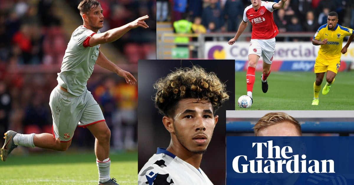 The standout young players in League One and League Two this season