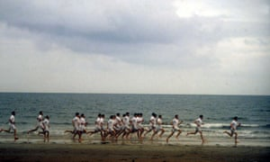 Chariots of Fire, 1981. Terry Rawlings pondered the famous scene and thought: 'Wouldn't it be nice to show these things like a ballet with these great long dissolves.'