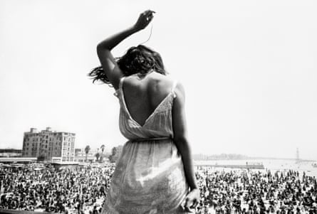 'This kid just marched up on stage and started dancing' ... Venice Beach rock festival, 1968.