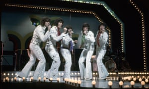 The Osmonds in the early 70s.