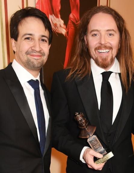 Lin-Manuel Miranda and Tim Minchin