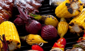 Beetroot is a perfect vegetarian barbecue option.