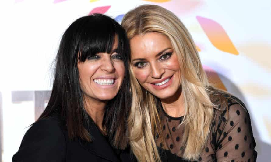 'Gone will be the celebratory and commiseratory hugs' says BBC entertainment boss ... Above, Strictly presenters Claudia Winkleman and Tess Daly.