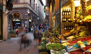 Bologna has a lively and growing dining scene.