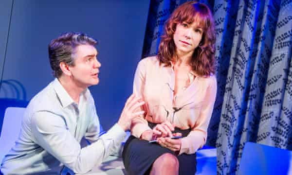 'Beautifully poised': Frances O'Connor with Alexander Hanson.