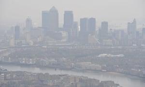 Smog in London