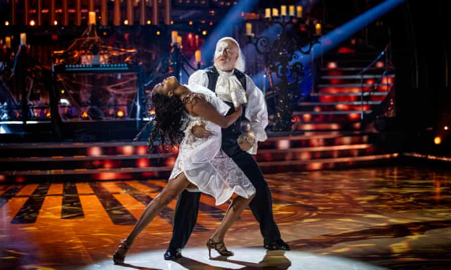 'A great musicality' … Bill Bailey with Oti Mabuse on Strictly Come Dancing.