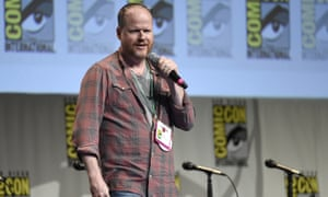 Joss Whedon speaks at Comic-Con International on Saturday.