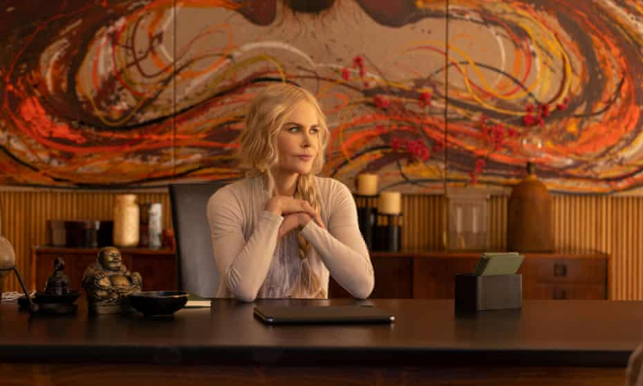 Nicole Kidman in Nine Perfect Strangers.