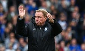 Harry Redknapp is unlikely to hang around if Birmingham go down.