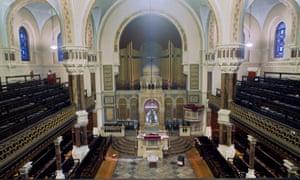 West London Synagogue Interior.
