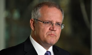 Australia treasurer, Scott Morrison