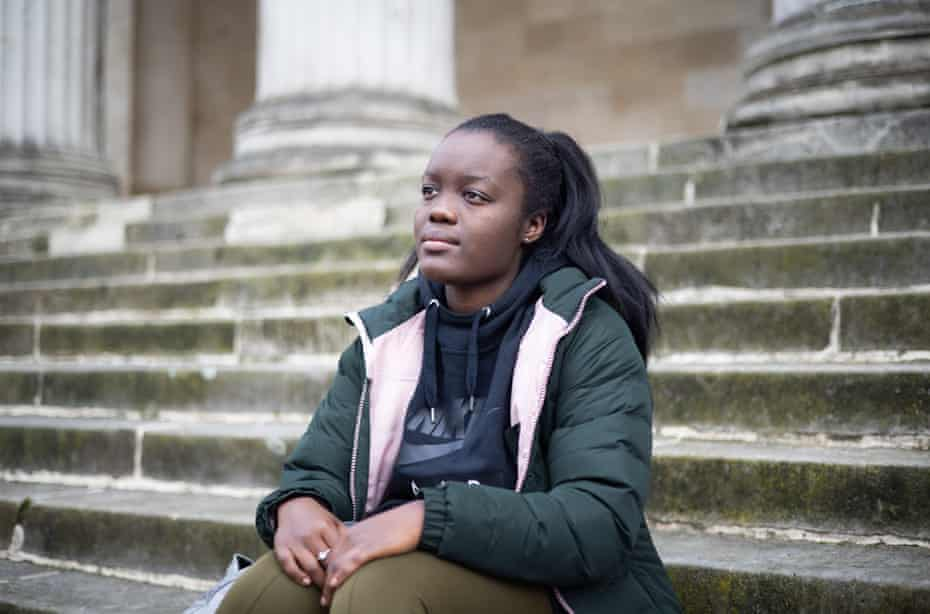 Seyi Aleleye, 21, is a fourth-year medicine student working on the Covid ICU ward.