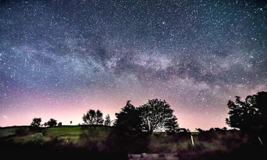 Night Sky with milky way from Snowdonia, WalesJC359K Night Sky with milky way from Snowdonia, Wales