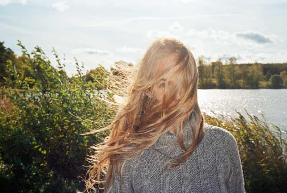 A photo of Jenny Rova from the series Älskling