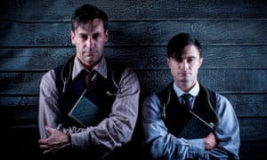 Jon Hamm and Daniel Radcliffe in the 2012 TV Bulgakov adaptation A Young Doctor's Notebook.
