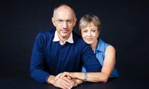 Sir Michael Moritz and Harriet Heyman.