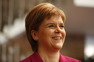 First Minister and SNP leader Nicola Sturgeon