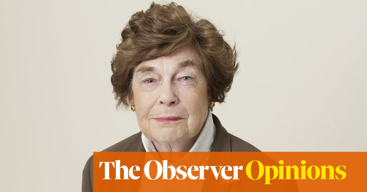 Thank you, Katharine Whitehorn, for giving all the female reprobates a voice | Barbara Ellen