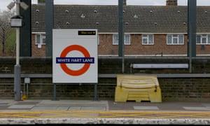 White Hart Lane station in London